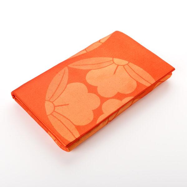 Pochette 3 Lys orange à plat