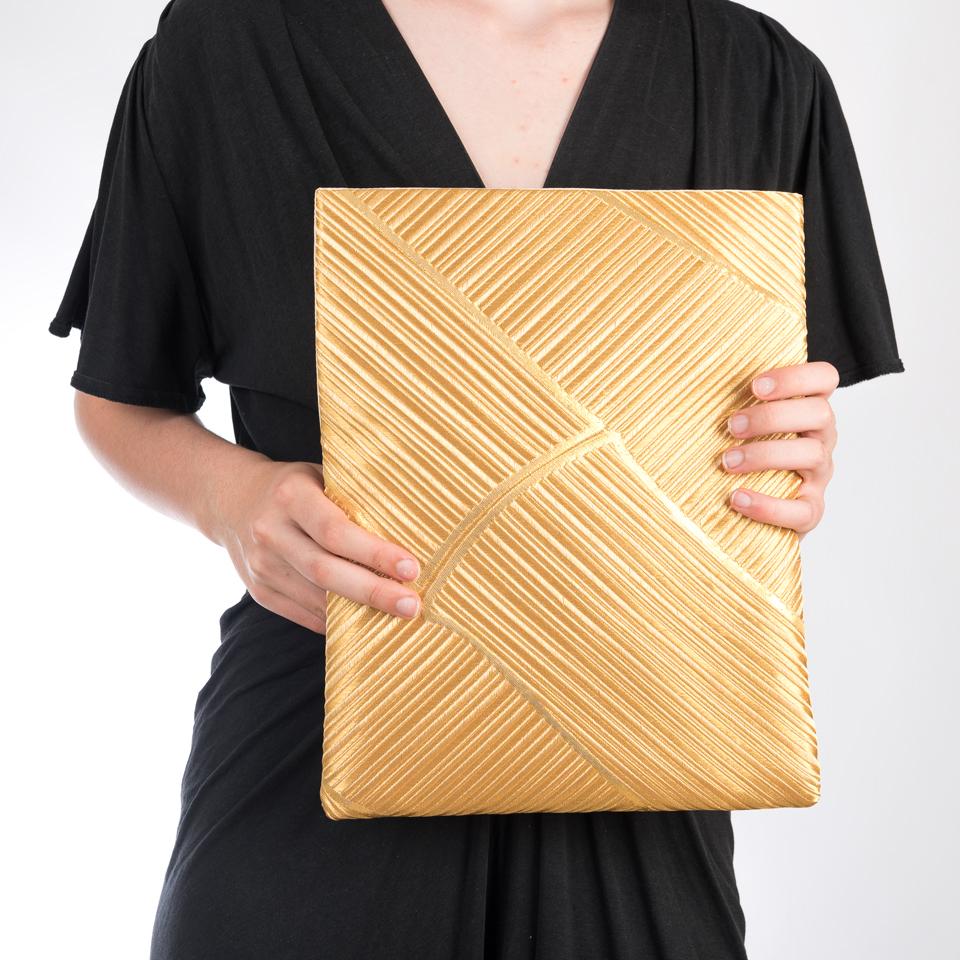 Pochette bambous d'or