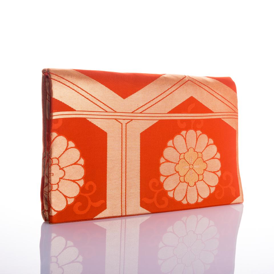 Harmonie orange et or - Orange