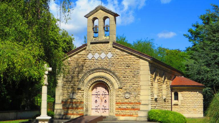 La chapelle Notre-Dame-de-la-Paix surnommée chapelle «Foujita»
